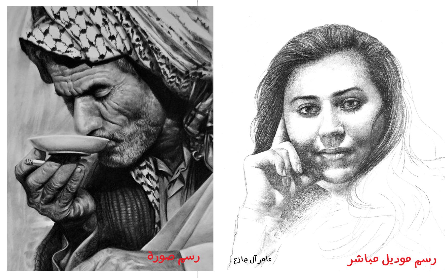 رسم موديل ام الرسم عن صورة او لوحة، ايهما أكثر ابداعاً
