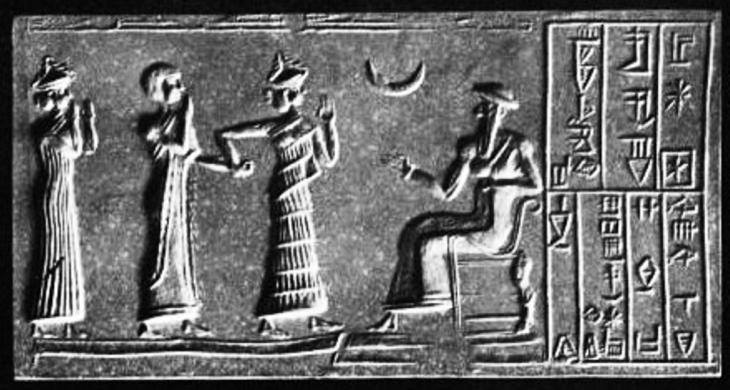 القمر كان رمزا وتقويما معتمدا عند السومريين