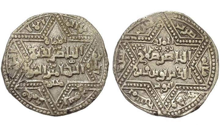 عملات من عصر صلاح الدين الايوبي