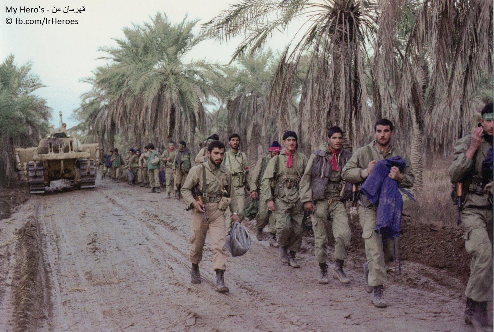 اعتمد الجيش العراقي على الاتصالات السلكية في الحرب ضد إيران