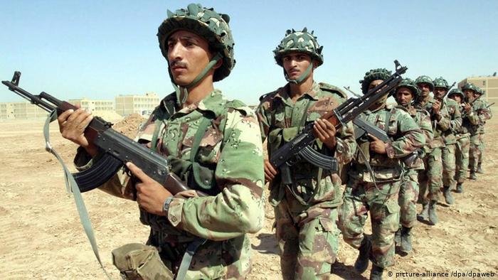 قطعات عراقية من القوات الخاصة اثناء التدريب